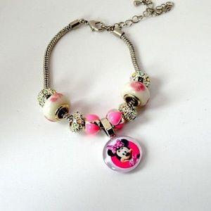 Jewelry - Minnie Mouse European Charm Bracelet